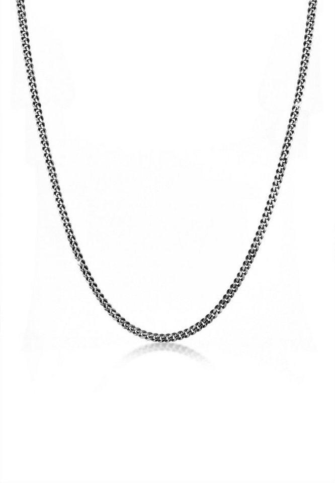 Online-Einzelhändler 46abc d857f Kuzzoi Silberkette »Herrn Panzerkette Oxidiert Massiv Mann 925 Silber«  online kaufen   OTTO