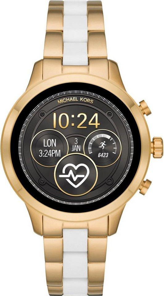 MICHAEL KORS ACCESS RUNWAY, MKT5057 Smartwatch (1.19 Zoll, Wear OS by Google, inkl. Dornschließe für Wechselband) | Uhren > Smartwatches | Goldfarben | MICHAEL KORS ACCESS