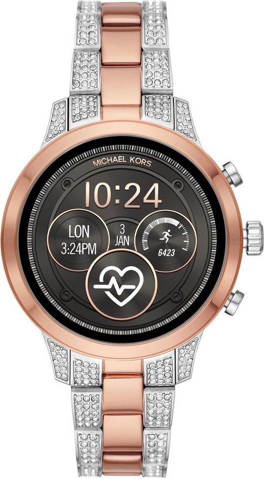 michael kors access runway mkt5056 smartwatch zoll wear os by google inkl dornschlie e. Black Bedroom Furniture Sets. Home Design Ideas