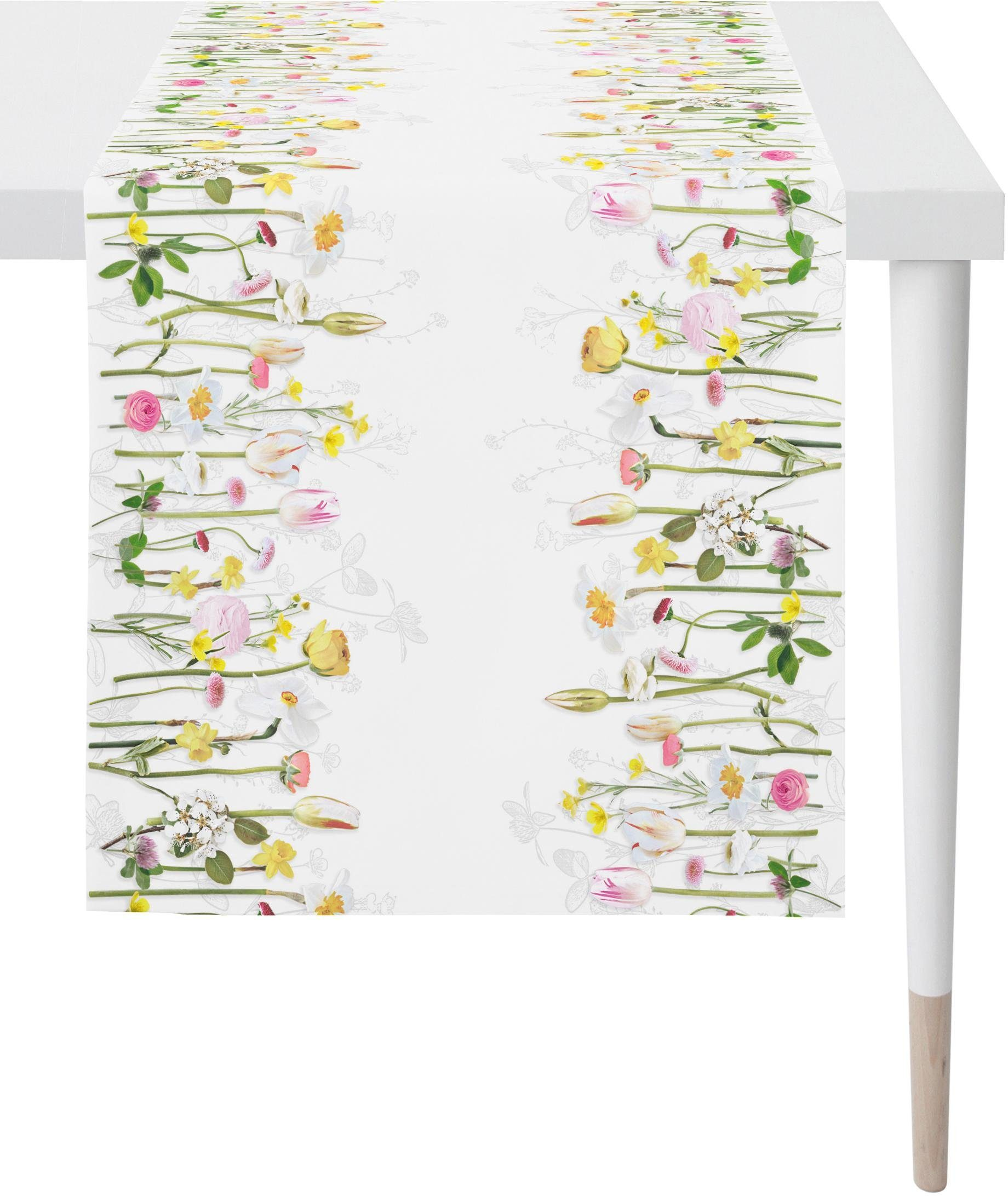 APELT Tischläufer »1618 Springtime« (1-tlg), Digitaldruck