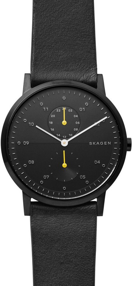 Skagen Multifunktionsuhr »KRISTOFFER, SKW6499« | Uhren > Multifunktionsuhren | Schwarz | Skagen