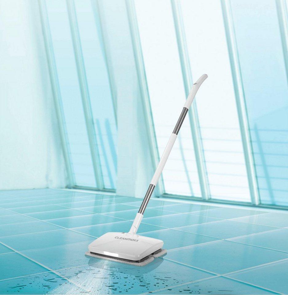 cleanmaxx wischmopp akku vibrationsmopp 11 1v wei watt. Black Bedroom Furniture Sets. Home Design Ideas