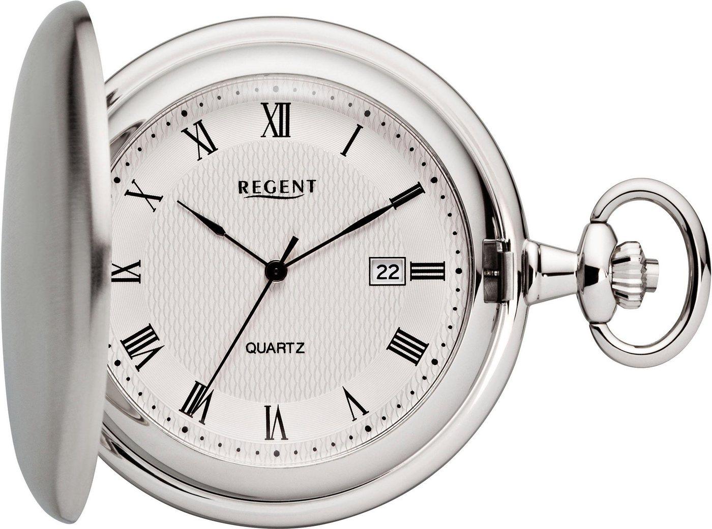 Regent Taschenuhr »P119« (Set, 2 tlg., inkl. Kette) | Uhren > Taschenuhren | Regent