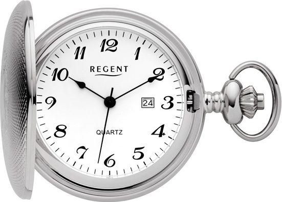 Regent Taschenuhr »PR007«, (Set, 2-tlg., inkl. Kette)