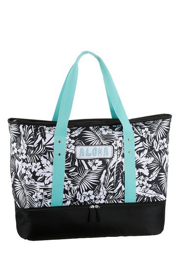 fabrizio® Strandtasche (Set, 3-tlg), mit gratis Sportbeutel und Bikini Bag