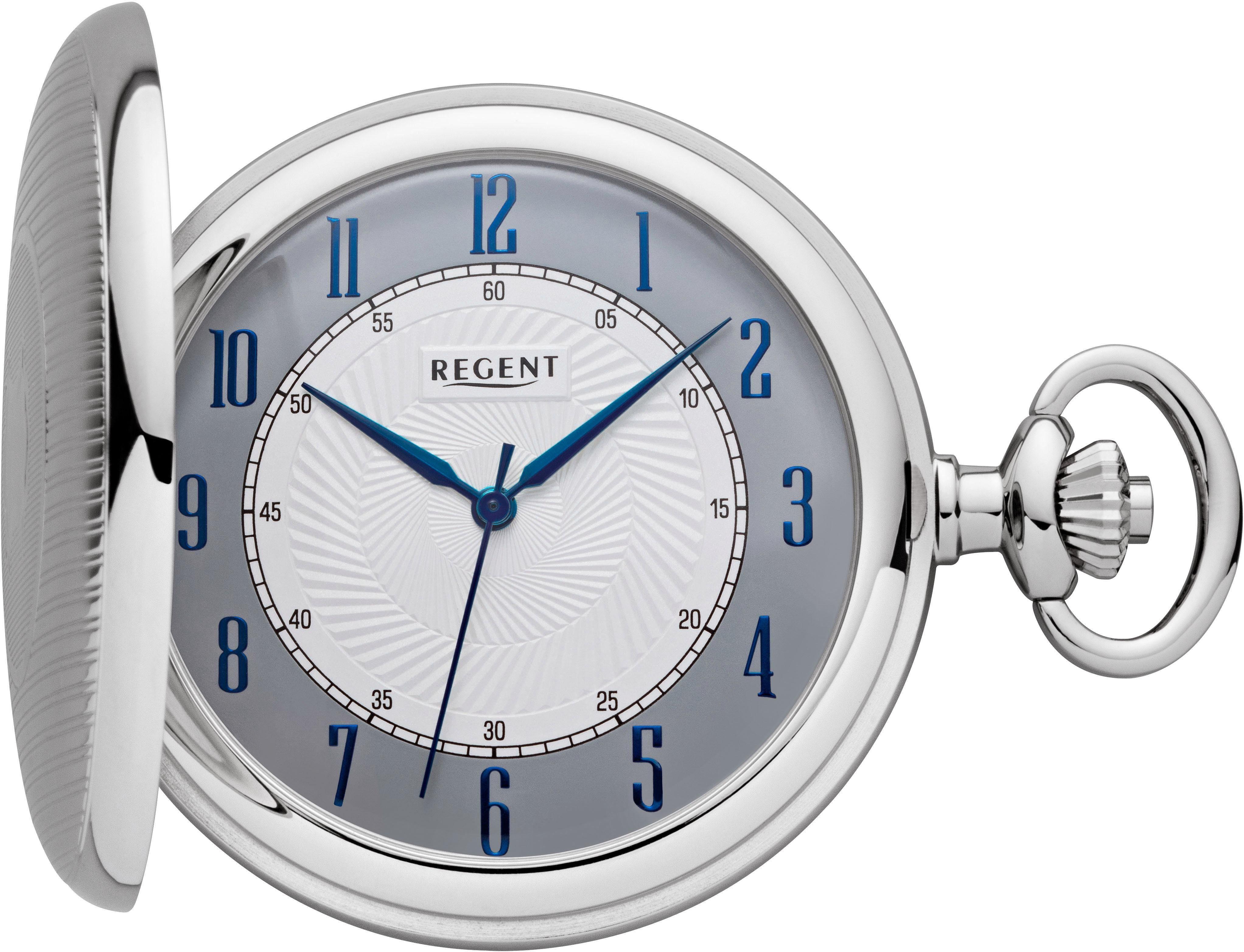 Regent Taschenuhr »P603« (Set, 2 tlg., inkl. Kette)