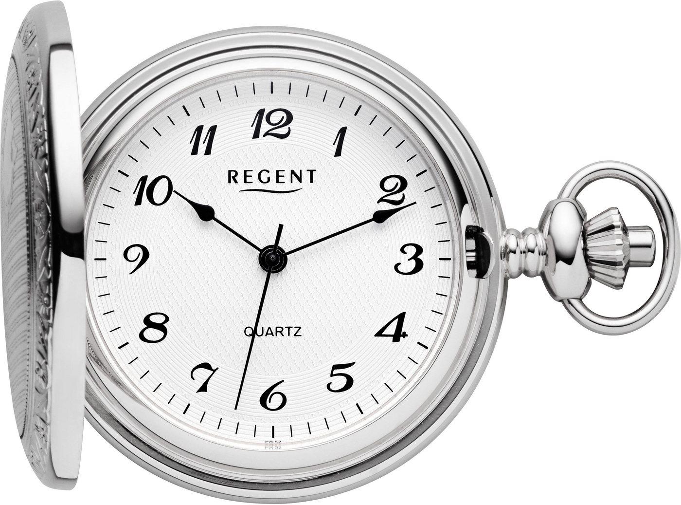 Regent Taschenuhr »PR011« (Set, 2 tlg., inkl. Kette) | Uhren > Taschenuhren | Regent