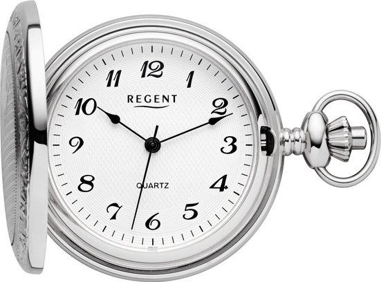 Regent Taschenuhr »PR011«, (Set, 2-tlg., inkl. Kette)