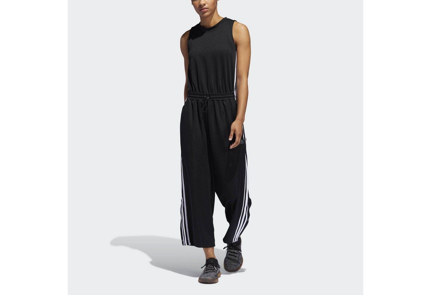 adidas Performance Trainingsanzug »Cropped Leg Snap Onesie«   Sportbekleidung > Sportanzüge > Trainingsanzüge   Schwarz   adidas Performance