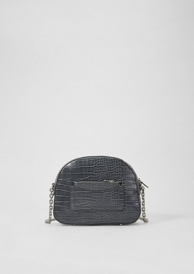 Damen s.Oliver RED LABEL  Shoulder Bag in Schlangenoptik schwarz | 04061376064504