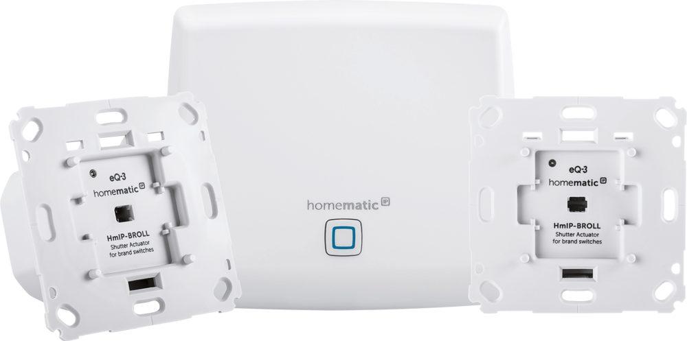 HomeMatic IP Smart Home »Starter Set Beschattung (151670A0)«