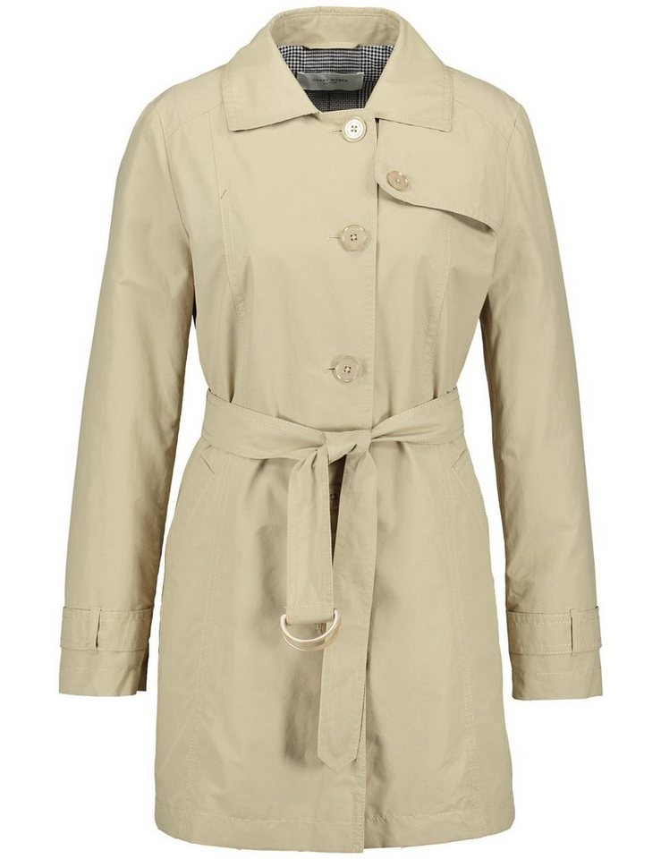GERRY WEBER Mantel nicht Wolle »Trenchcoat« | Bekleidung > Mäntel > Trenchcoats | Wolle - Polyamid - Polyester | Gerry Weber