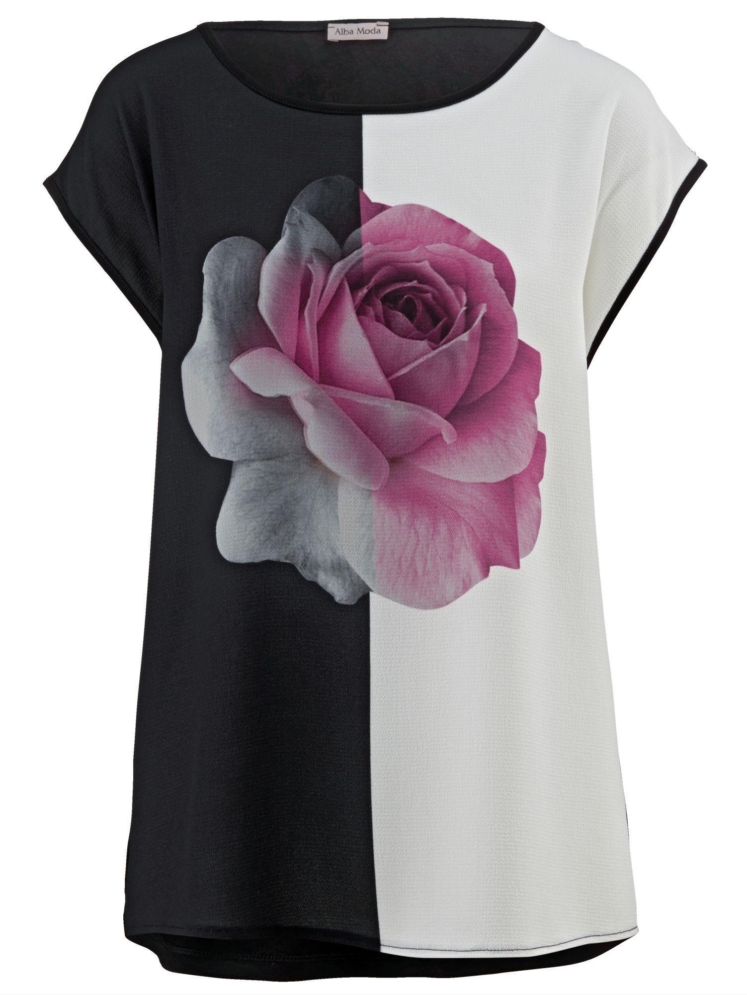Alba Moda Shirt mit Blumendruck