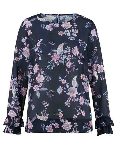 Alba Moda Bluse mit exklusivem Blumenprint