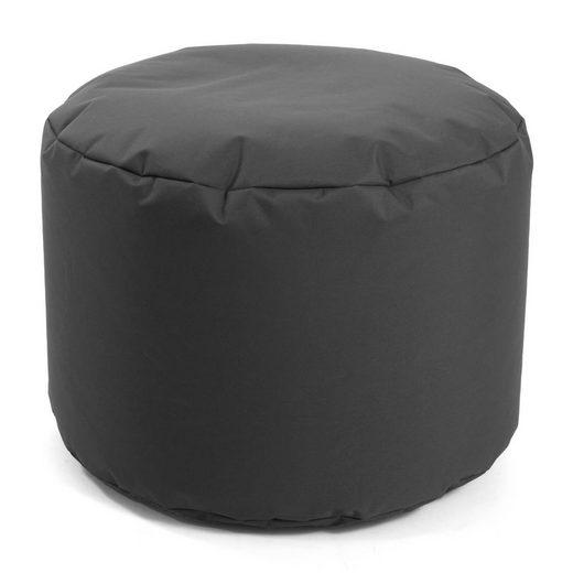 mokebo Pouf »Der Ruhepouf«, auch als rundes oder eckiges Indoor/Outdoor Sitzkissen oder Hocker in vielen Farben