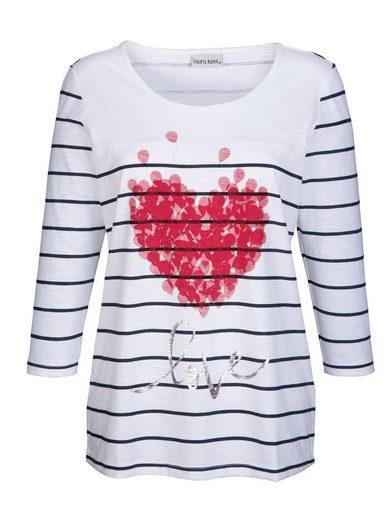 Laura Kent Shirt mit verspieltem Herz-Druck