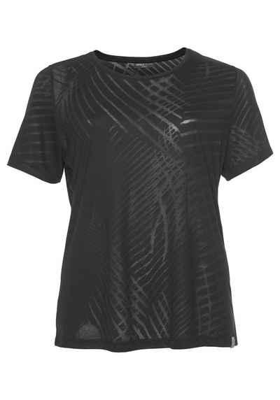 73a15404e9cfc8 Only Play T-Shirt »ONLY PLAY FELICITY BURNOUT SHORTSLEEVE TEE« Große Größen