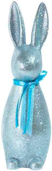 Osterhase »Glitter Rabbit«, mit Glitzerpartikel