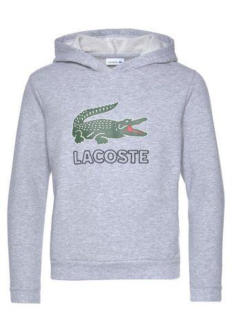 LACOSTE Sportinis megztinis su gobtuvu