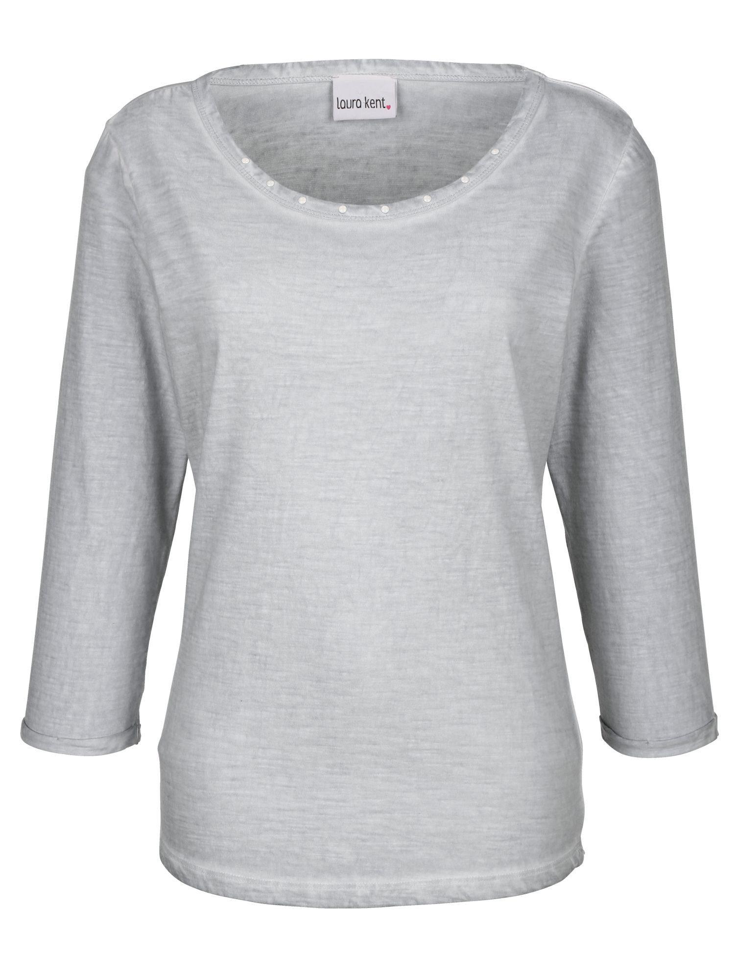 Laura Kent Shirt in modischer Oildyed-Färbung