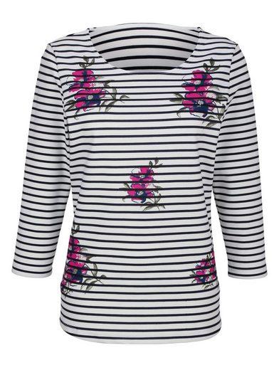 Laura Kent Shirt mit Blumendruck