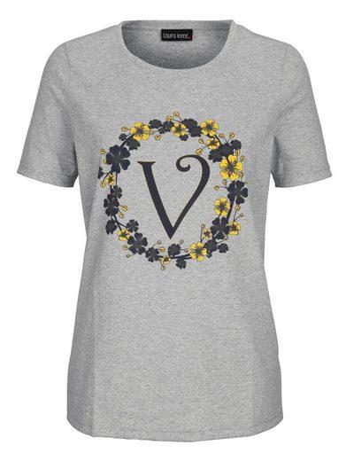 Laura Kent Shirt mit floralem Druck