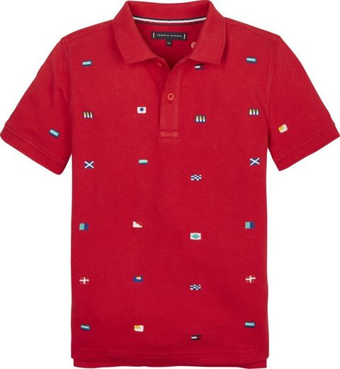 Tommy Hilfiger Polos »FASHION ALLOVER FLAG POLO S/S«