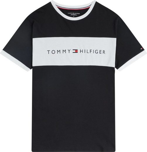 Tommy Hilfiger T-Shirt »CN SS TEE LOGO FLAG«