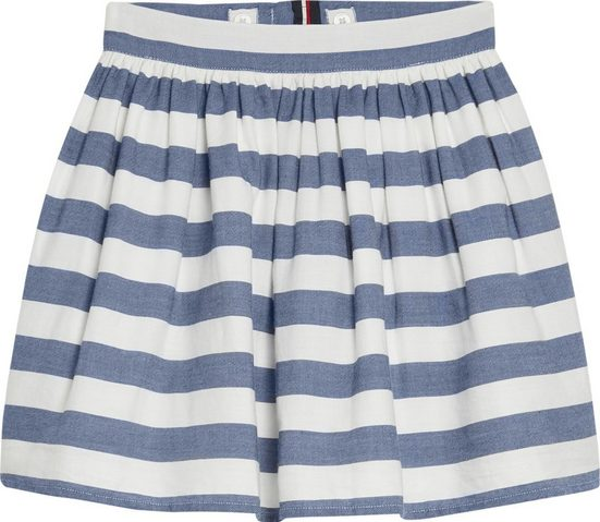 Tommy Hilfiger Röcke »ICIC CHAMBRAY STRIPE SKIRT«