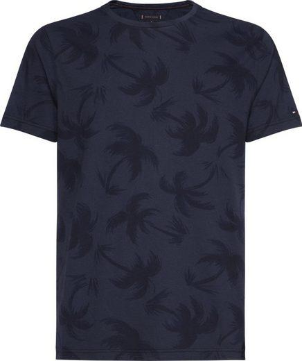 Tommy Hilfiger T-Shirt »TONAL PALM GARMENT DYE TEE«