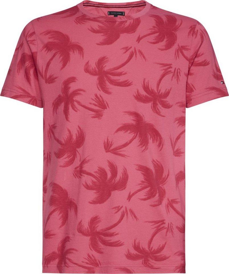 46a1dc80e3356 Tommy Hilfiger T-Shirt »TONAL PALM GARMENT DYE TEE« online kaufen | OTTO