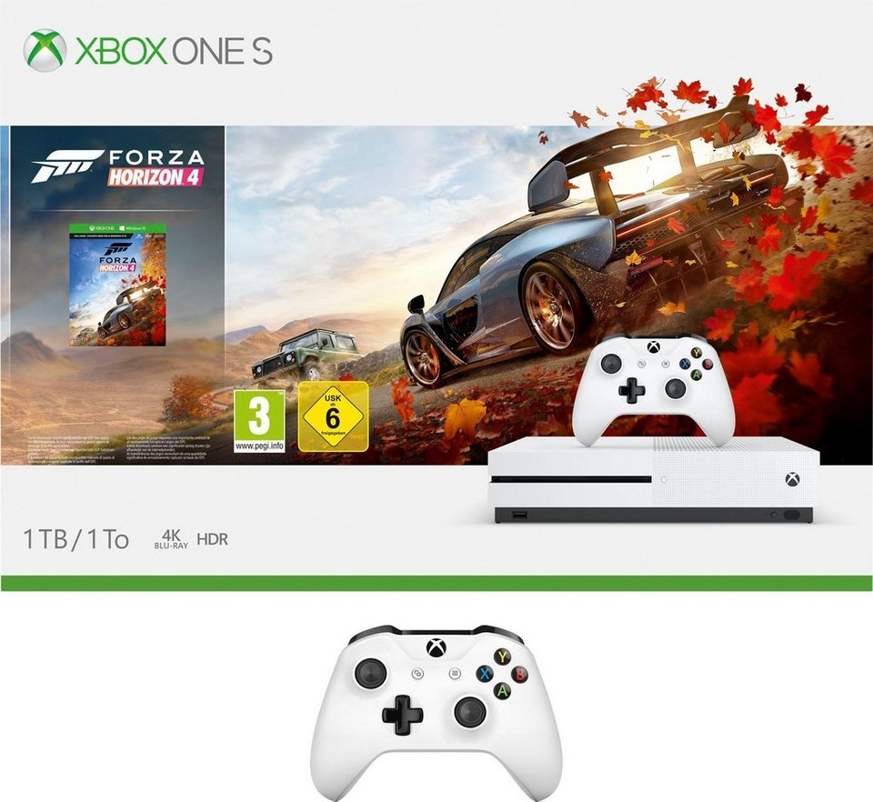 xbox one s 1tb bundle inkl forza horizon 4 2 wireless controller online kaufen otto. Black Bedroom Furniture Sets. Home Design Ideas