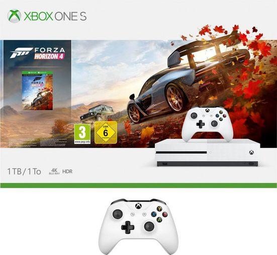 Xbox One S 1TB (Bundle, inkl. Forza Horizon 4 + 2. Wireless Controller)