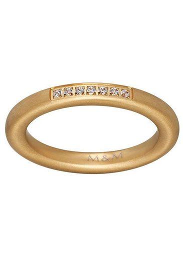 M&M GERMANY Fingerring »Modern Glam, MR3225-4«, mit Zirkonia