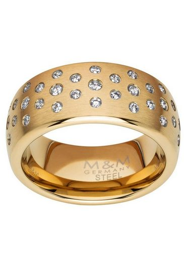 M&M GERMANY Fingerring »Modern Glam, MR3262-4«, mit Zirkonia