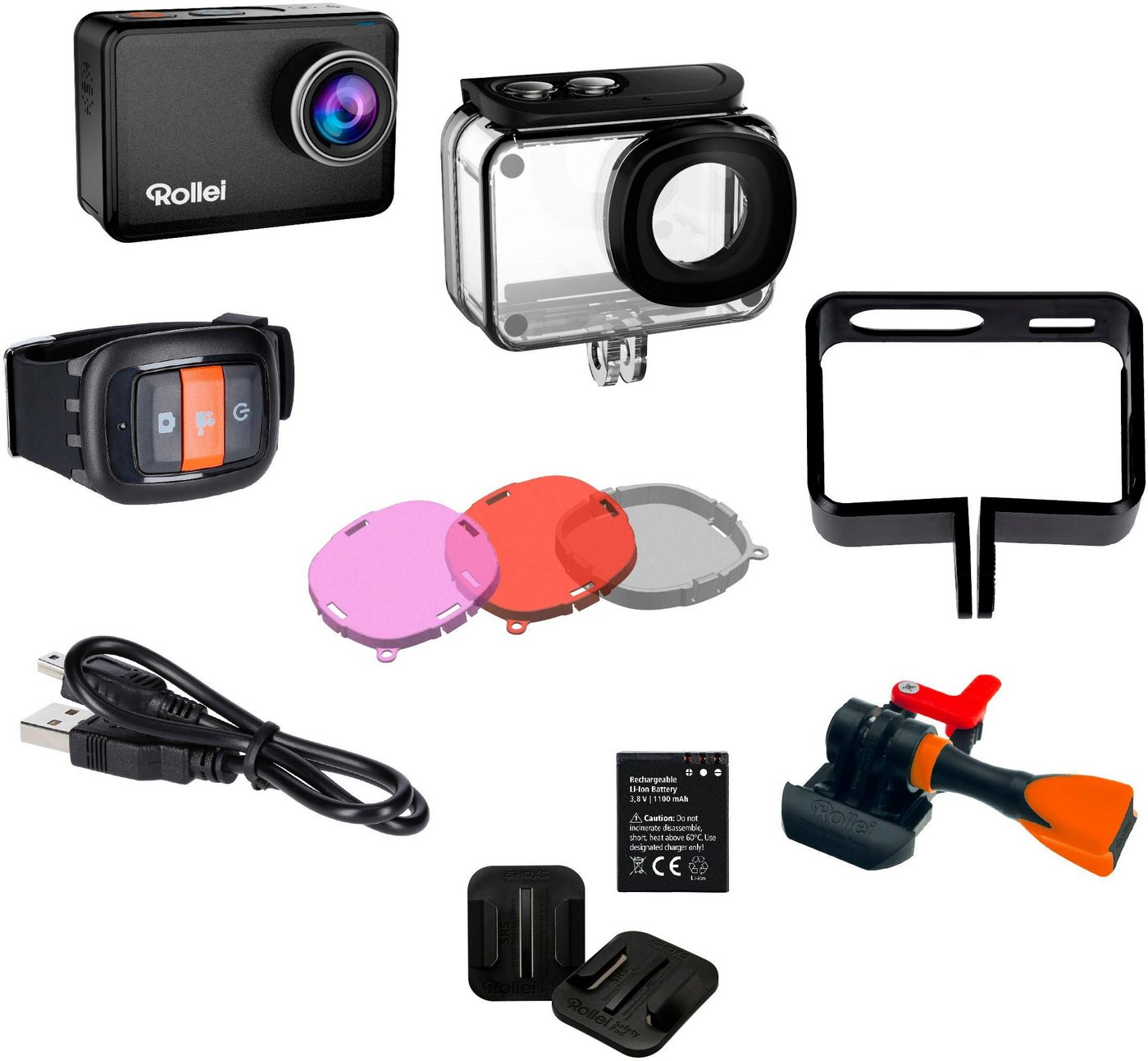 Action, Outdoorkameras - Rollei »560 Touch« Action Cam (4K Ultra HD, WLAN (Wi Fi)  - Onlineshop OTTO