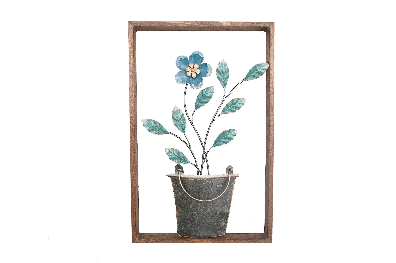 NTK-Collection Wanddeko »Blumentopf«