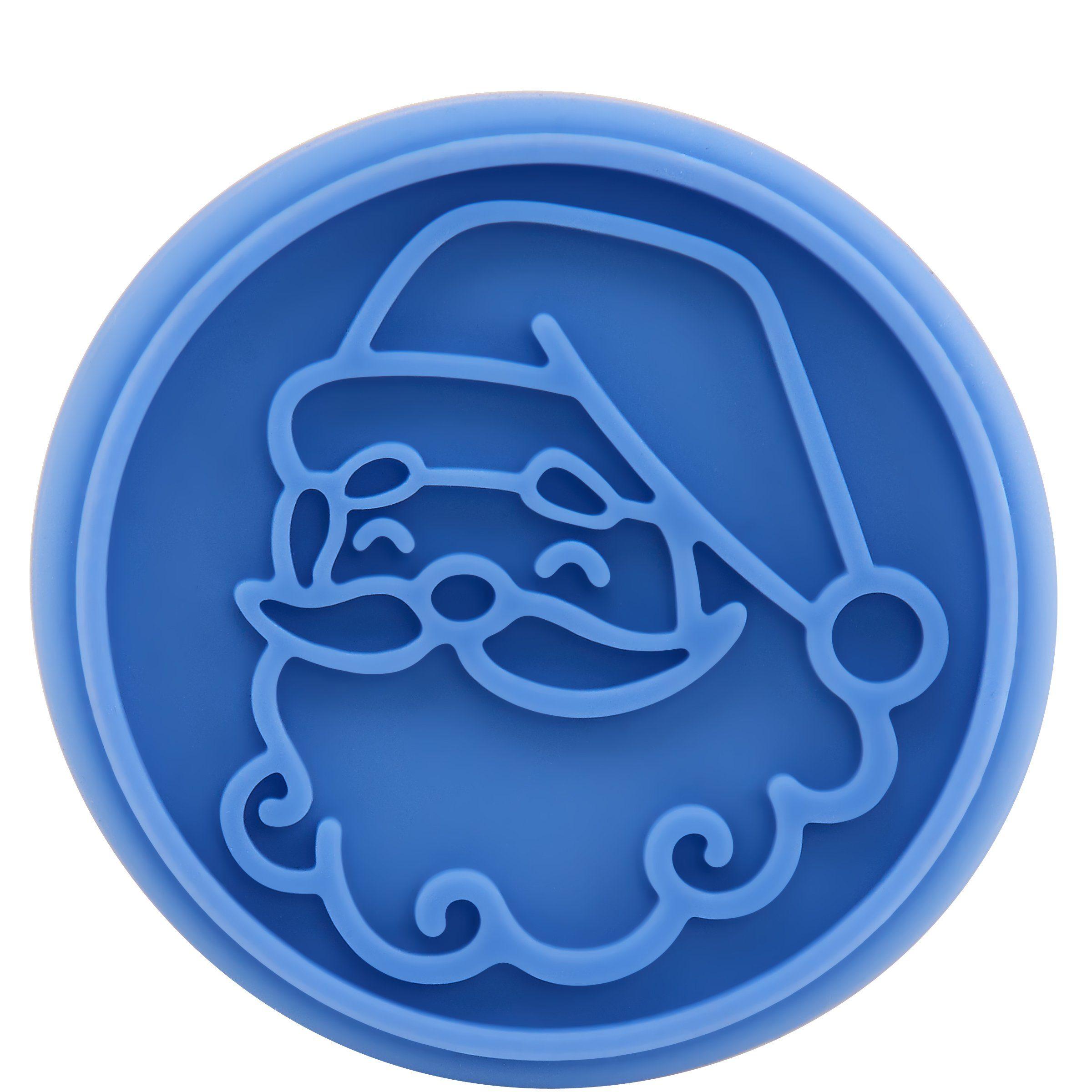 BUTLERS BISCUIT Keksstempel Weihnachtsmann »Weihnachtsplätzchen Stempel Plätzchenstempel«