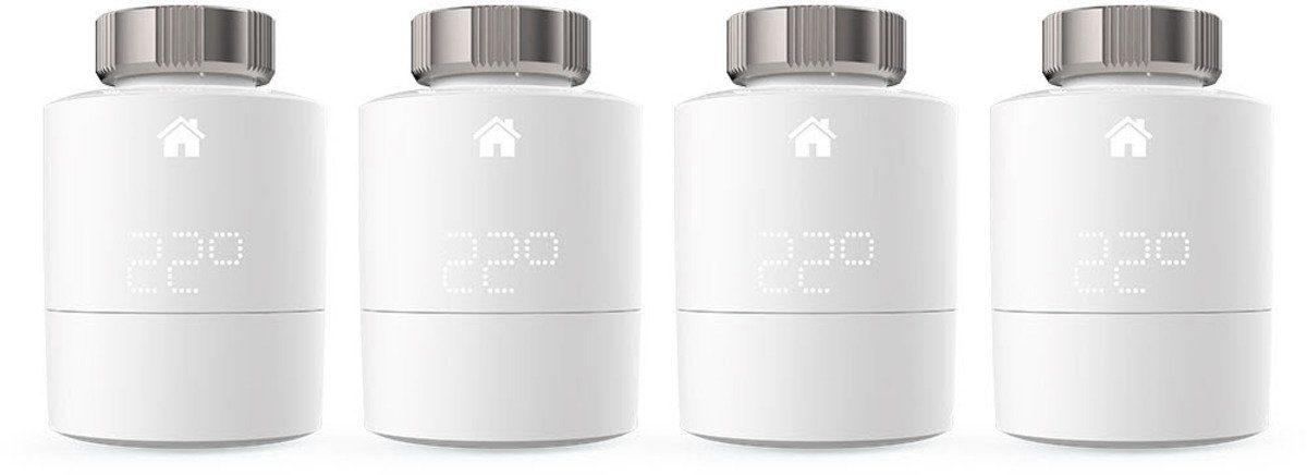 Tado Smart Home Zubehör »Smart Heizkörperthermostat - Quattro Pack«