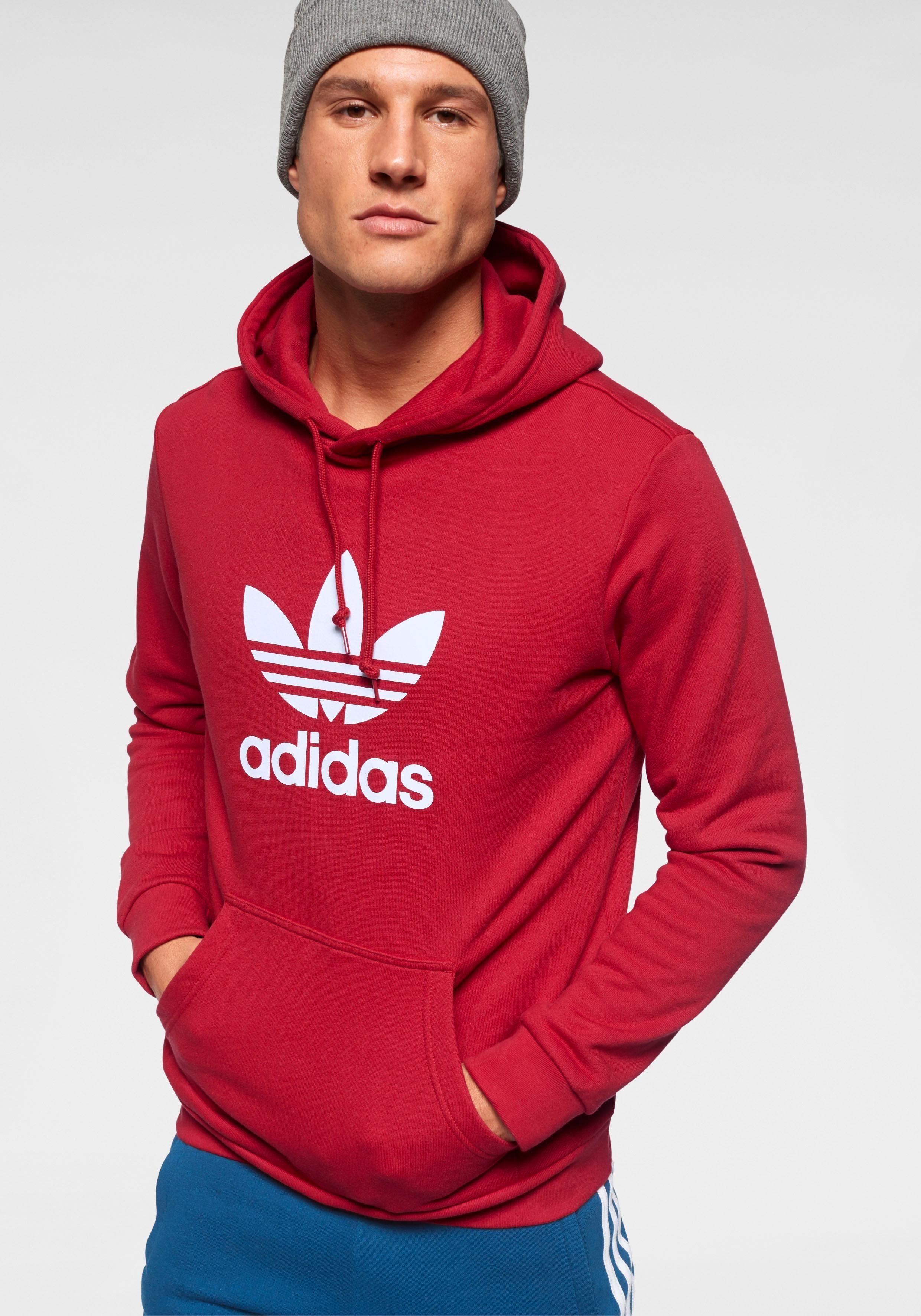 adidas Originals Kapuzensweatshirt »TREFOIL HOODIE«, Großer Logodruck online kaufen | OTTO