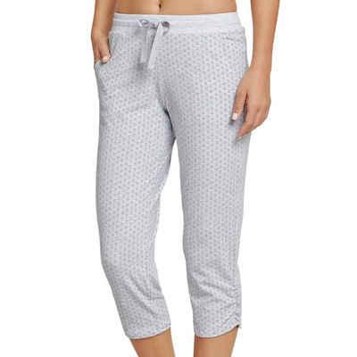 Schiesser Schlafhose »Mix & Relax Schlafanzug Jersey Hose 3/4 lang« (1-tlg) Mit Seitentaschen, Angenehm auf der Haut, Schlafanzüge zum selber mixen