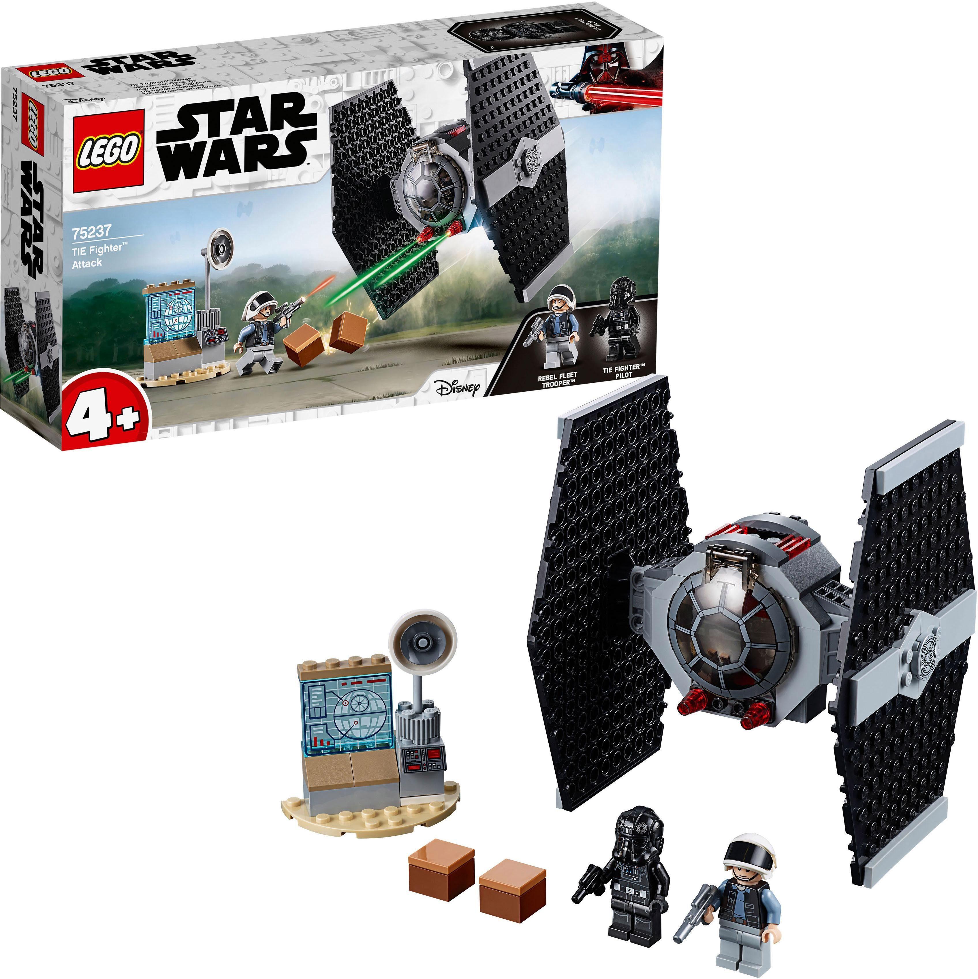 LEGO® Konstruktionsspielsteine »TIE Fighter™ Attack (75237), LEGO® Star Wars™«, (77 tlg)