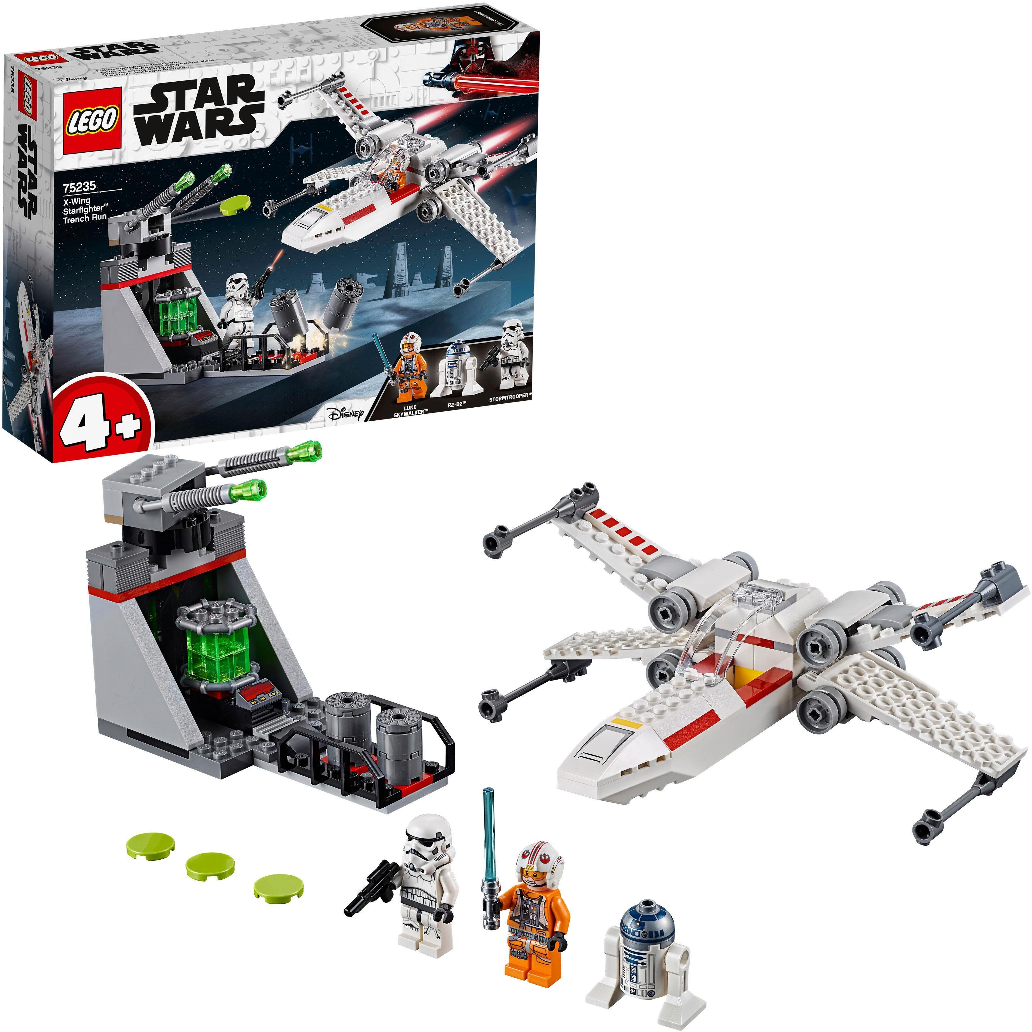 LEGO® Konstruktionsspielsteine »X-Wing Starfighter™ Trench Run (75235), LEGO® Star Wars™«, (132 tlg)