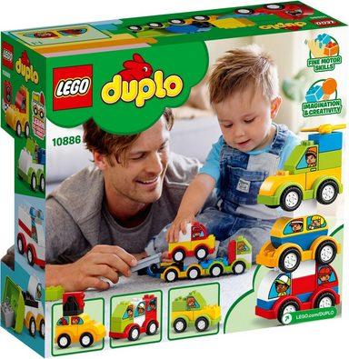 LEGO® Spielbausteine »Meine ersten Fahrzeuge (10886), LEGO® DUPLO™«, (34 St)