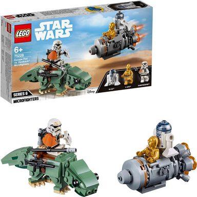 LEGO® Konstruktionsspielsteine »Escape Pod vs. Dewback™ Microfighters (75228), LEGO® Star Wars™«, (177 St)