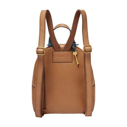 Mit Minirucksack rückfach Backpack« »megan Fossil Reißverschluss Praktischem Mini F7HwgzxxSn