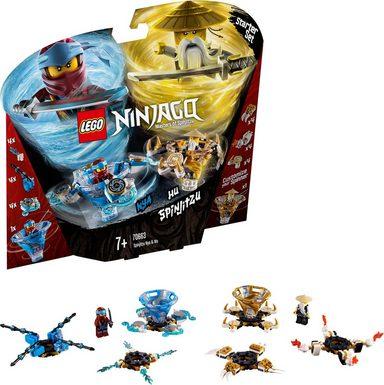 LEGO® Spinjitzu Nya & Wu (70663), »LEGO® NINJAGO®«