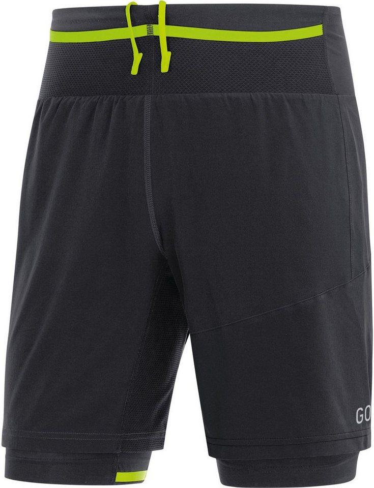 Damen,Herren GORE® Wear Hose R7 2in1 Shorts Men schwarz | 04017912981910