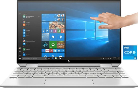 HP Spectre x360 13-aw2355ng Convertible Notebook (33,8 cm/13,3 Zoll, Intel Core i5, Iris© Xe Graphics, 1000 GB SSD, Kostenloses Upgrade auf Windows 11, sobald verfügbar)