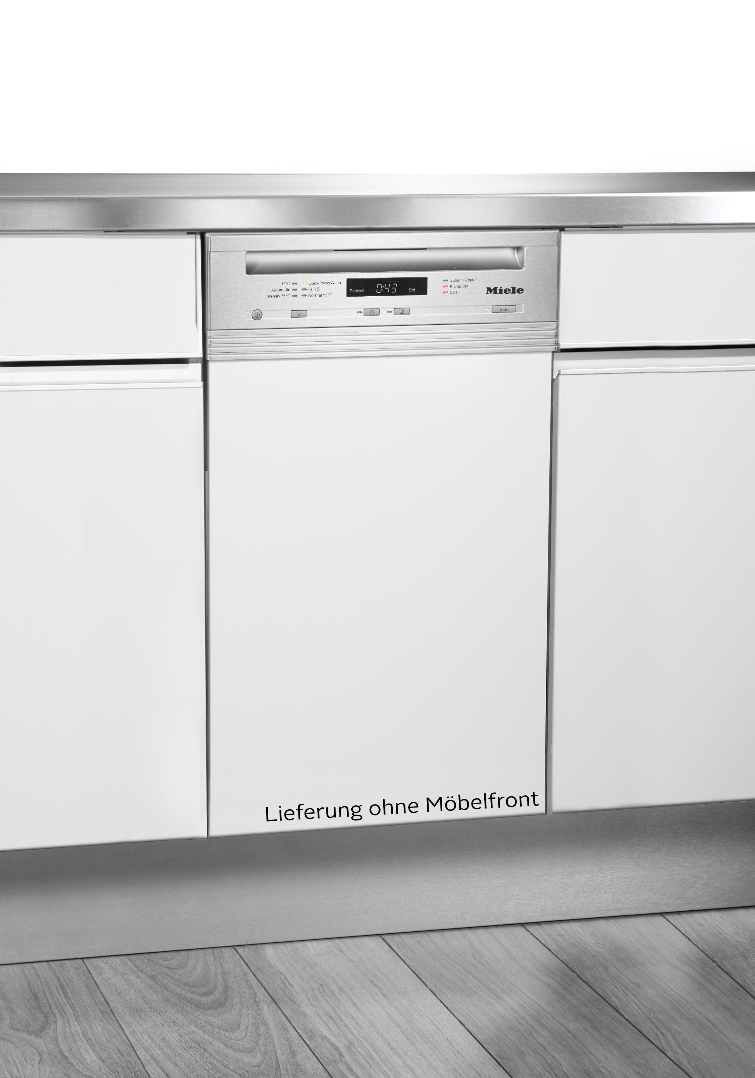 Miele teilintegrierbarer Geschirrspüler, G 4722 SCi ed/clst, 0,87 l, 9 Maßgedecke, 45 cm breit